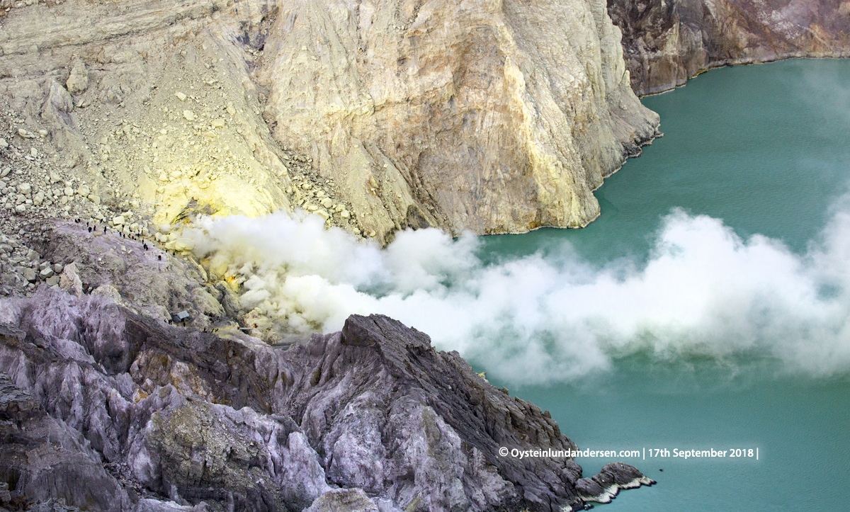 Ijen volcano java indonesia blueflame biru gunung