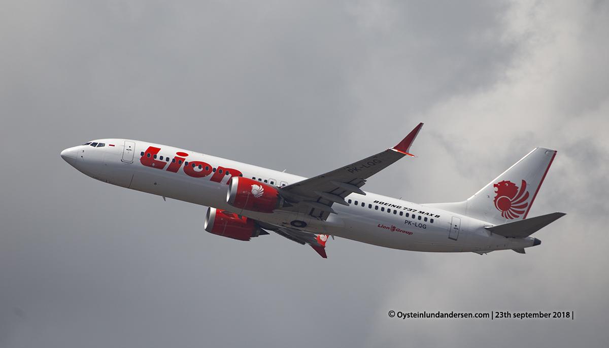 Bali Denpasar 2018 Lion air Boeing 737-MAX (PK-LQG)