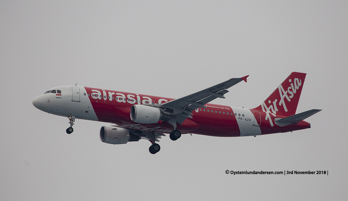 Air Asia Indonesia Airbus 320-200 PK-AZH