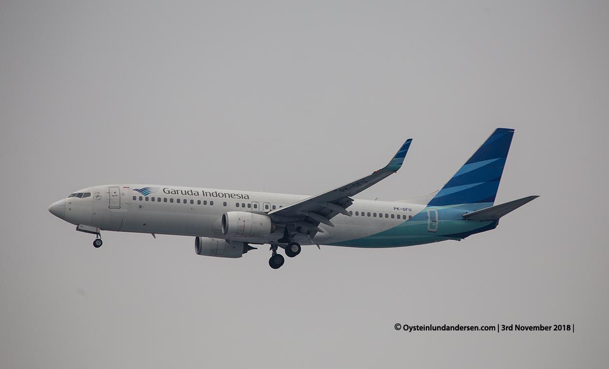 Garuda Indonesia Boeing 737-800 PK-GFM