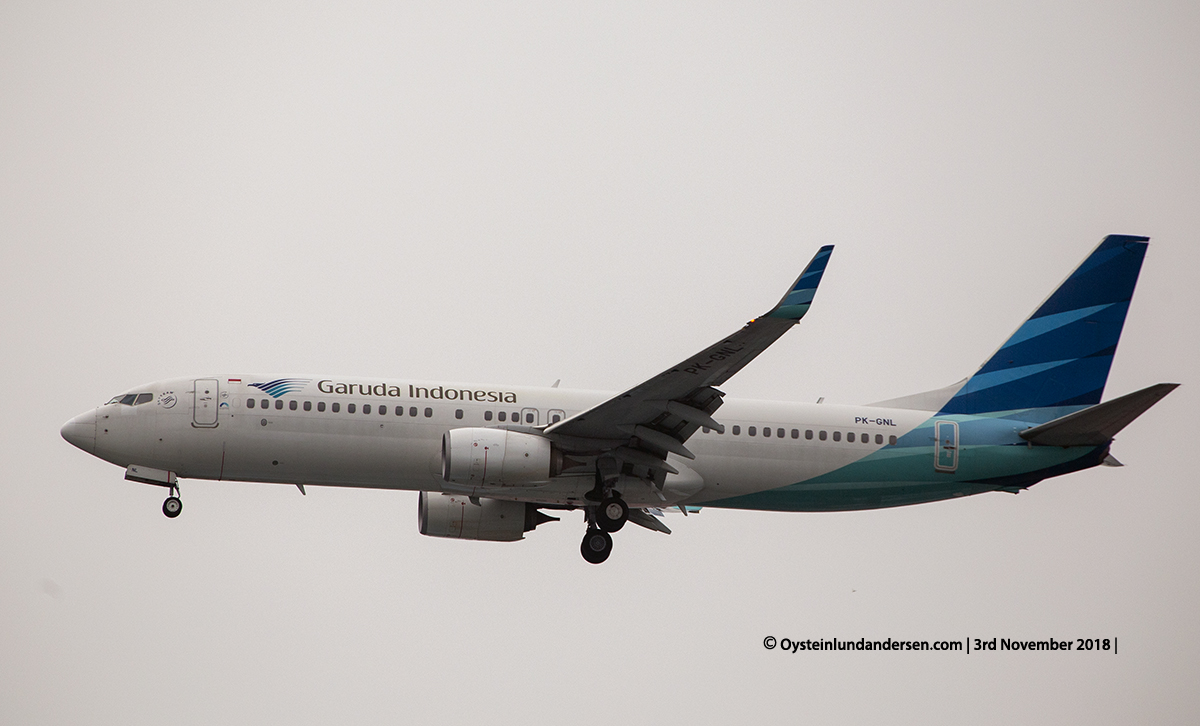 Garuda Indonesia Boeing 737-800 PK-GNL