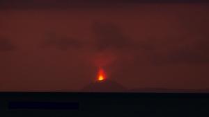 Krakatau volcano November 2018 - LOGO