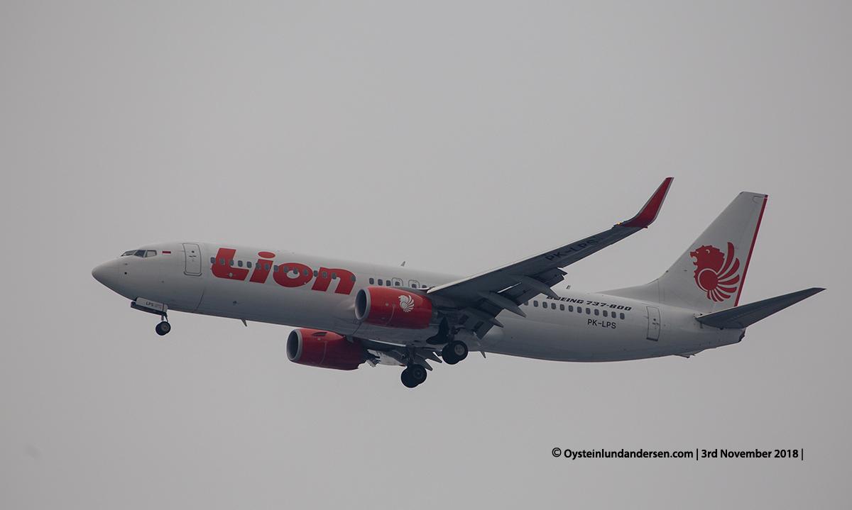 Lion Air Boeing 737-800 PK-LPS