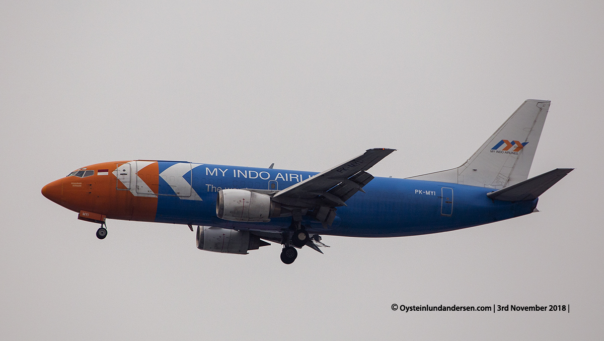 My Indo Airlines Boeing 737-300F PK-MYI