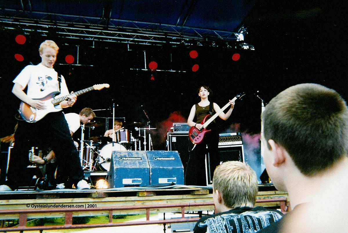 Purusam Trästock festivalen 2000 skellefteå