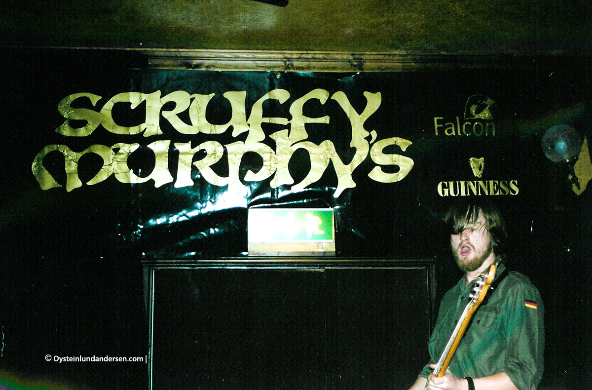 Randy band Sweden Orebro 2001 Scruffy Murphys