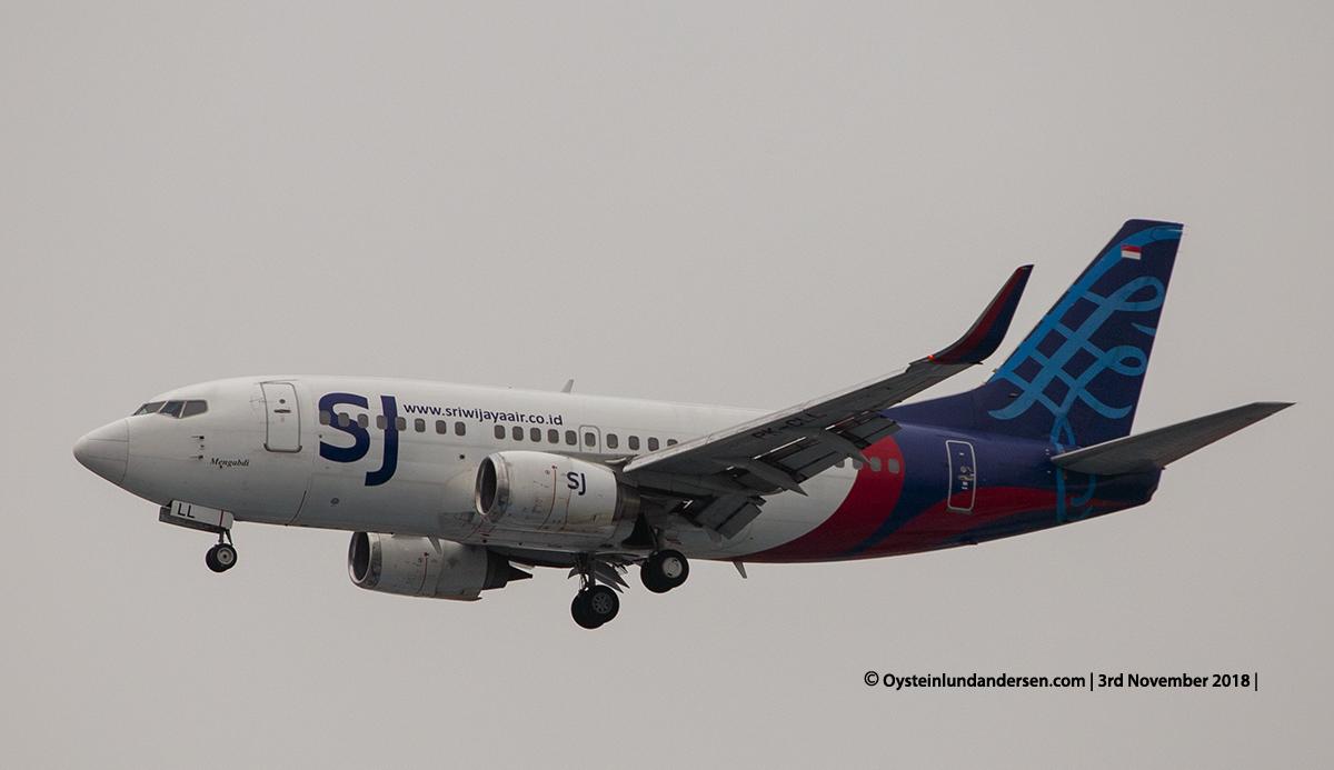 Sriwijaya Mengabdi Boeing 737-500