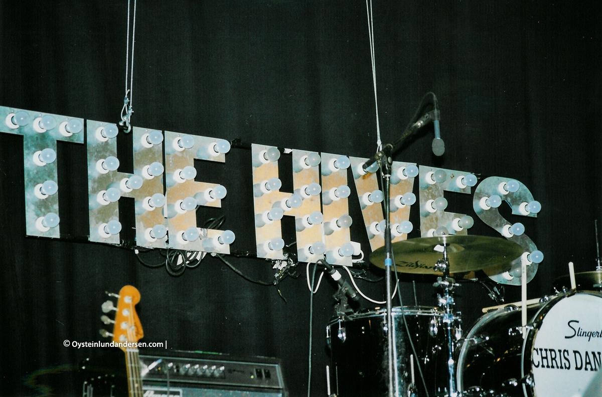 The Hives Piteå Dansar och ler 2001