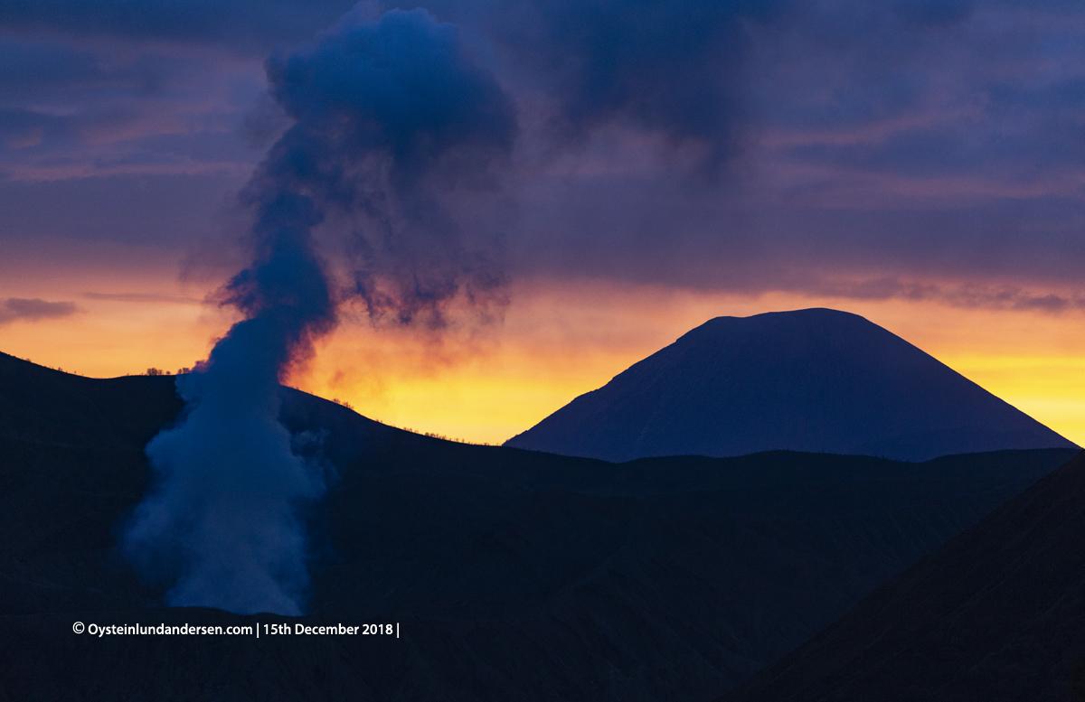 Semeru Volcano 2018 Indonesia gunung-bromo volcano