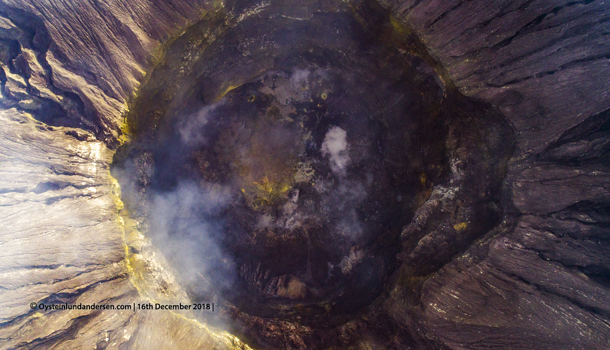 Aerial crater Bromo Tengger 2018 andersen