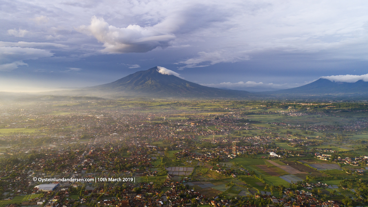 Cikurai volcano Java Indonesia 2019