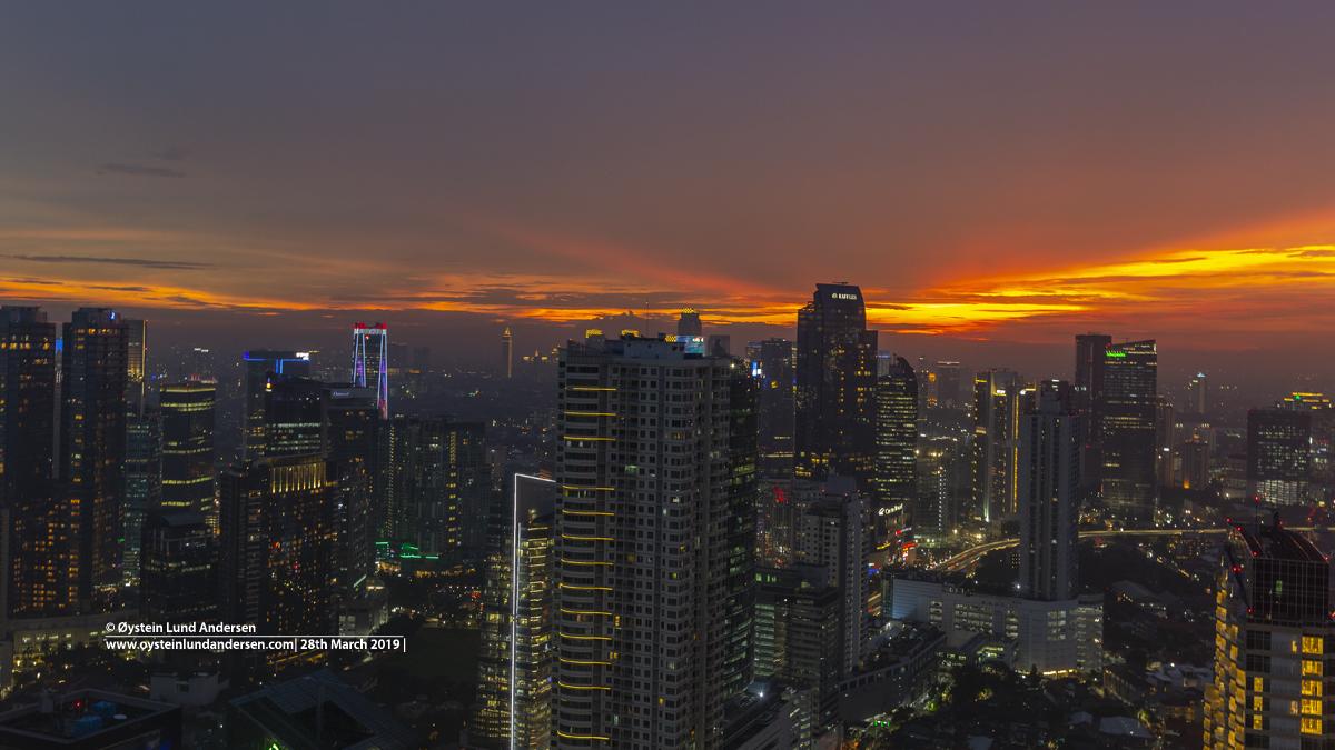 Jakarta Sunset Indonesia 2019