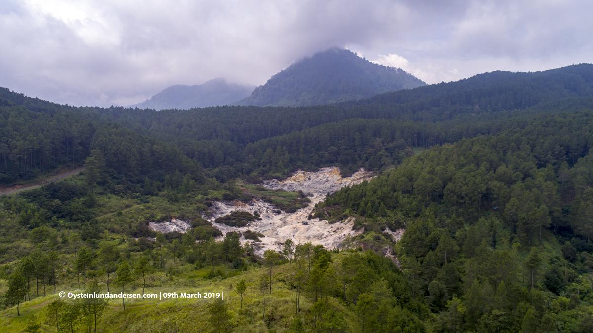 Kawah Karaha Bodas Java Indonesia 2019