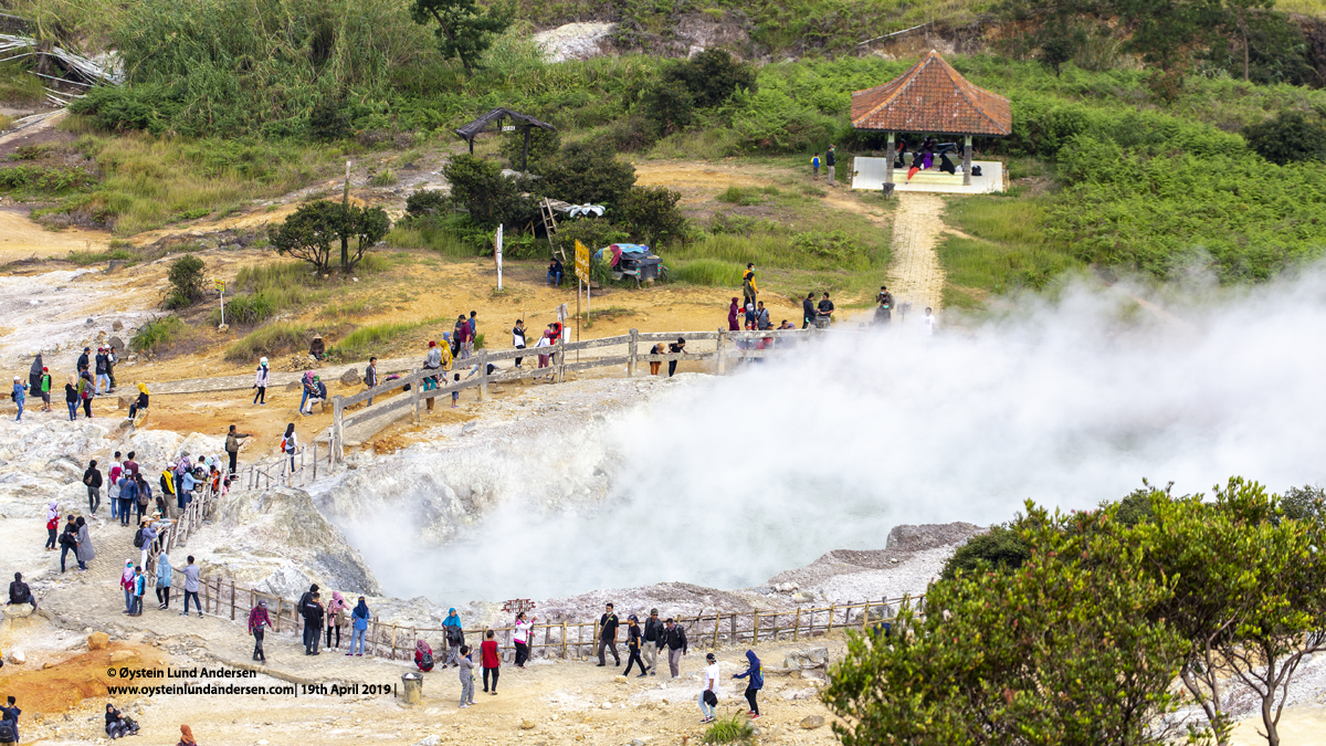 Sikidang Crater Dieng Indonesia