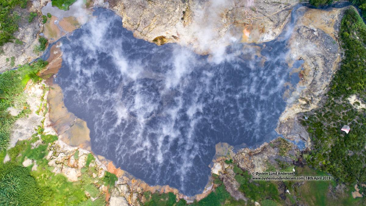 Kawah Sileri Crater Dieng 2019