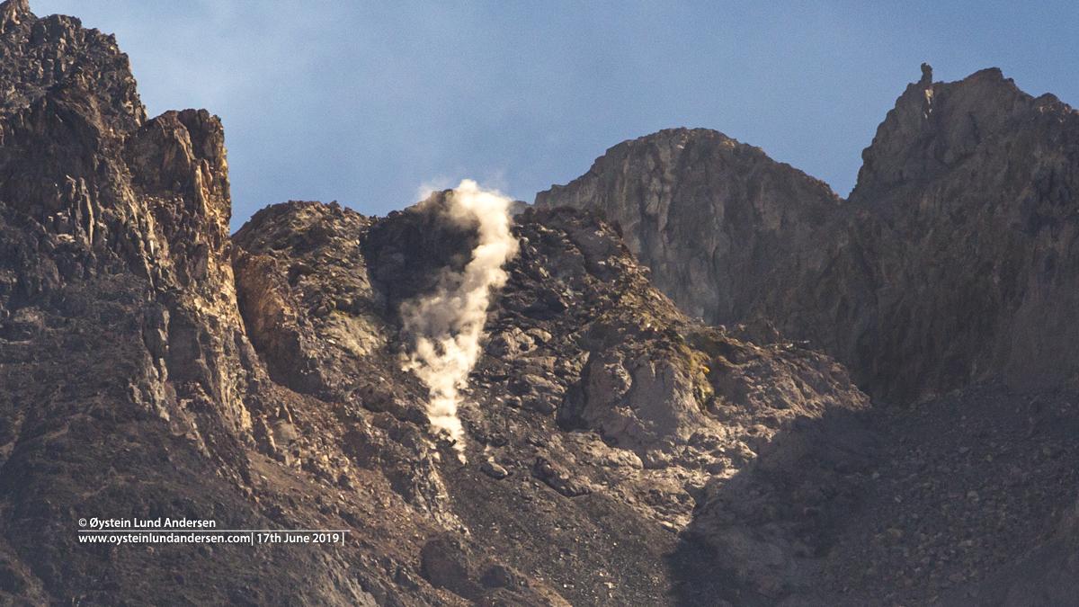 Merapi June 2019 Volcano