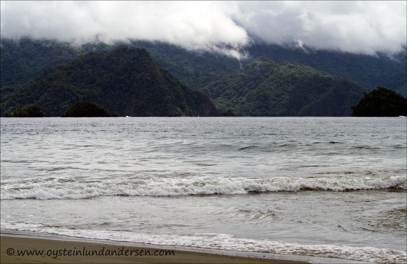 View to coastal area near of Tabla nusa. (14March 2012)