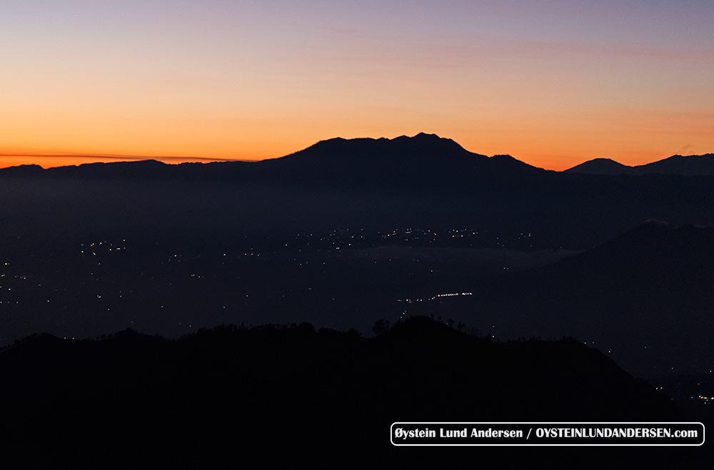 Mount Argopura to the east of the Tengger Caldera.