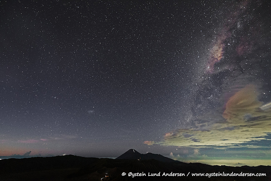 Galactic centre, milky way, Indonesia