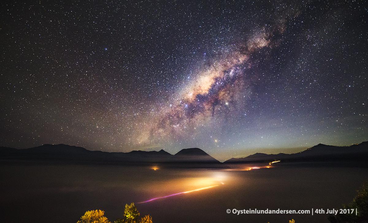 Bromo volcano milkyway bimasakit galactic center july 2017 tengger Indonesia Samyang