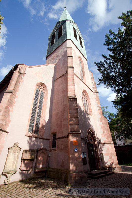 St. Peter's Church of Heidelberg.
