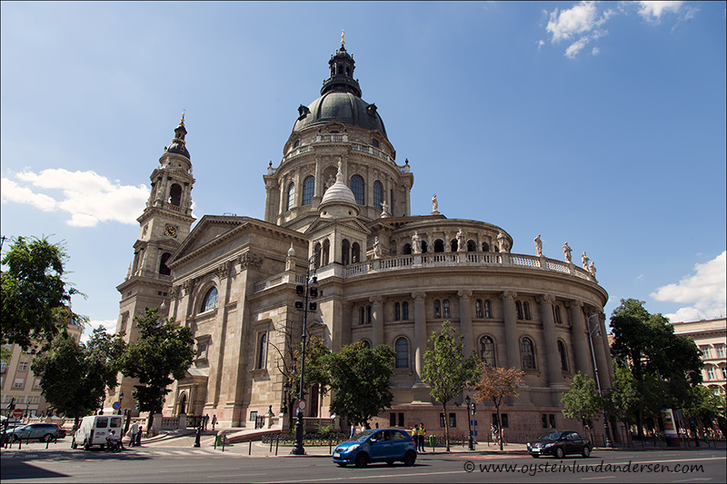 2. St. Stephen's Basilica, Budapest's largest church.