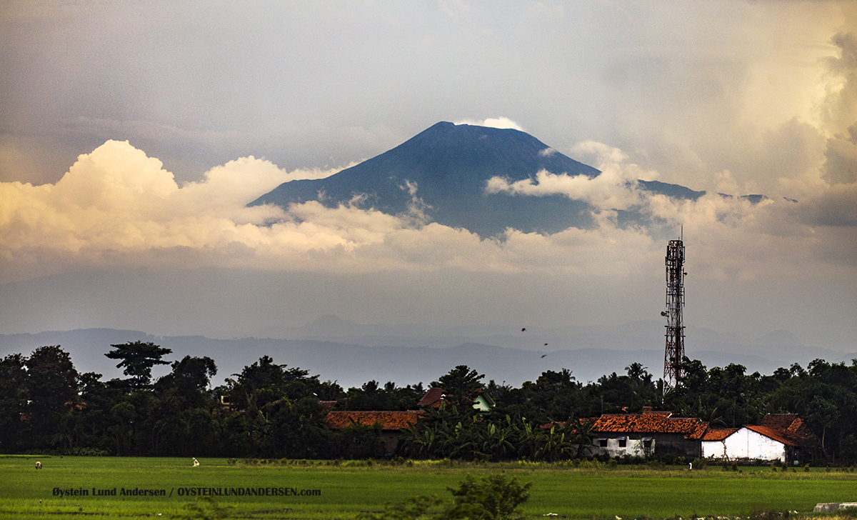 Slamet volcano, Central Java, Indonesia, December 2016