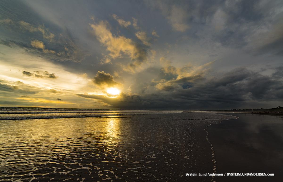 Pangandaran 2017 beach sunset