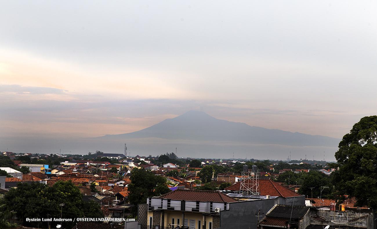 Slamet Volcano Tegal Indonesia 2016