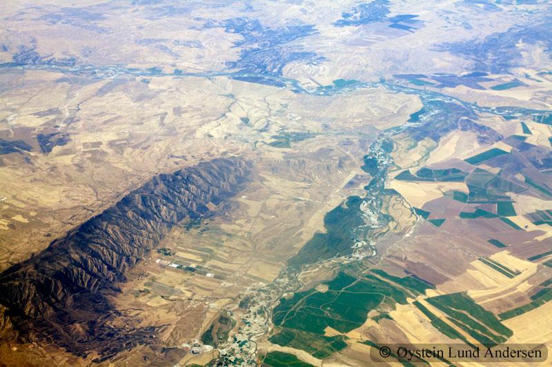 Iraq Zakhu city aerial photography