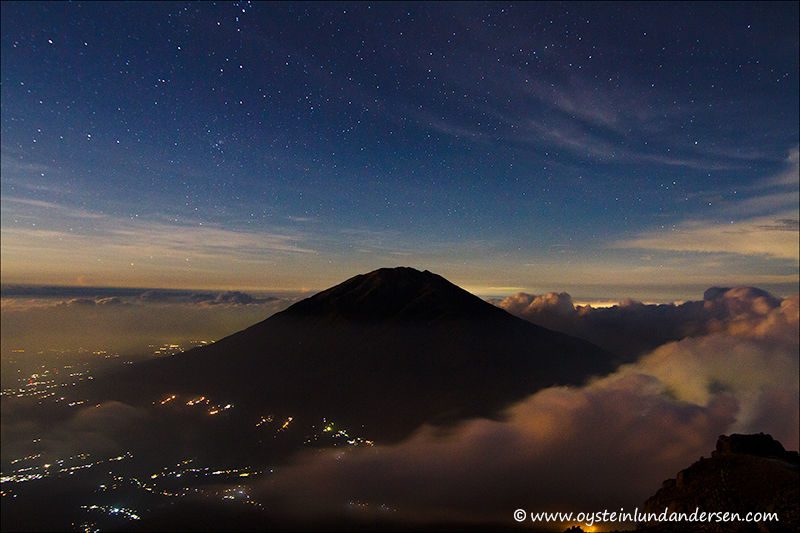 Merbabu volcano