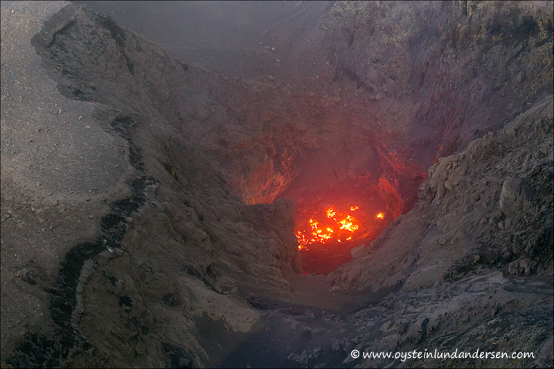 2. The nortern part of the crater