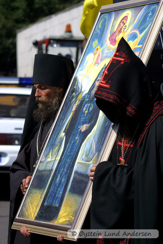 Priests of the Eastern Orthodox Church (Moscow)
