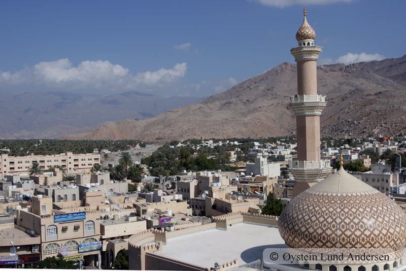 View from the Nizwa fort.