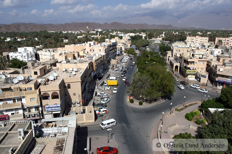 View from Nizwa fort.