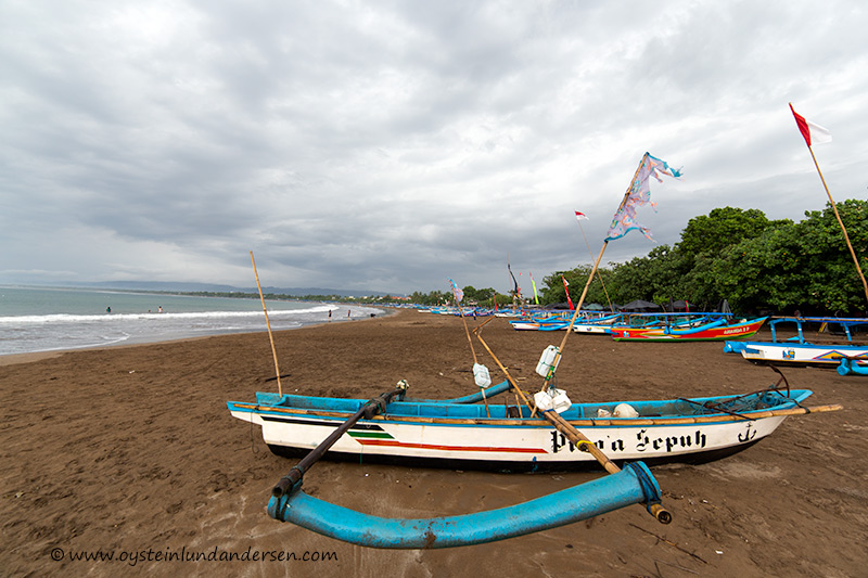 Pangandaran West Java Indonesia beach aerial