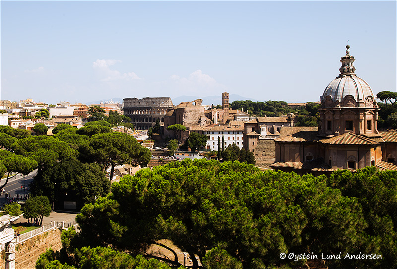 6. Rome skyline.