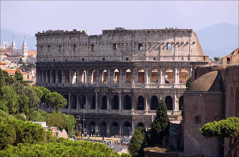 7. Colosseum.