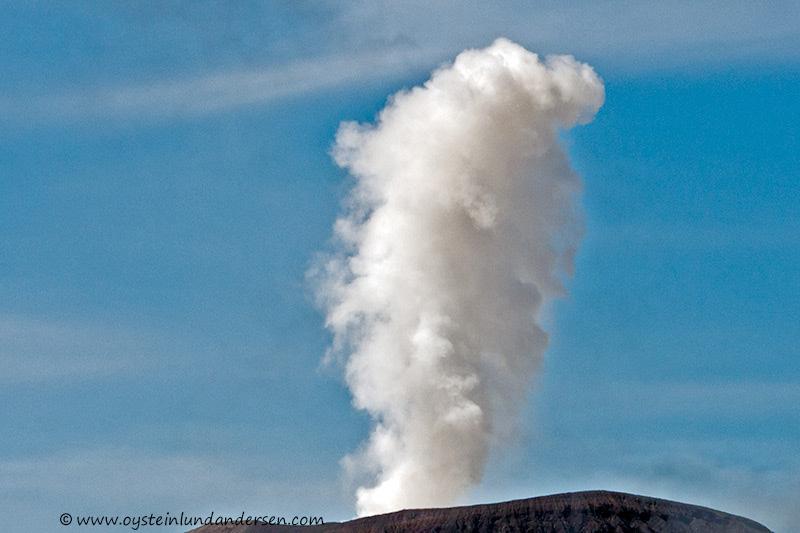 Eruption cloud up close. (08:42)