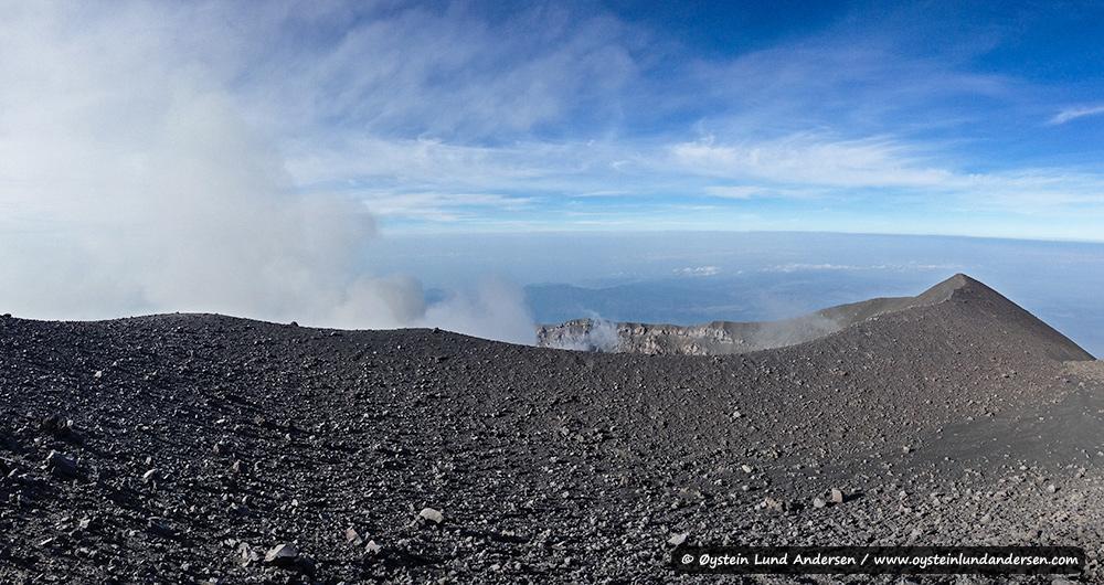 The Jonggring Saloko crater of Semeru.
