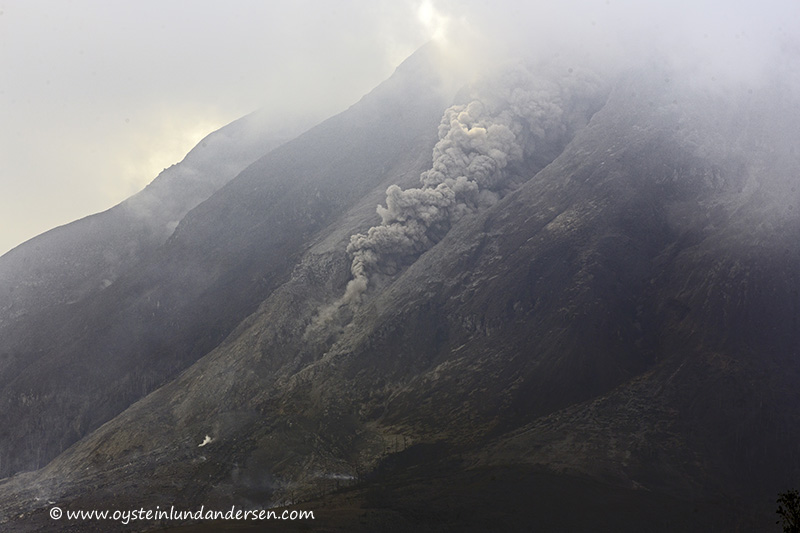 20. Smaller pyroclastic flow. (12th January - 15:49)