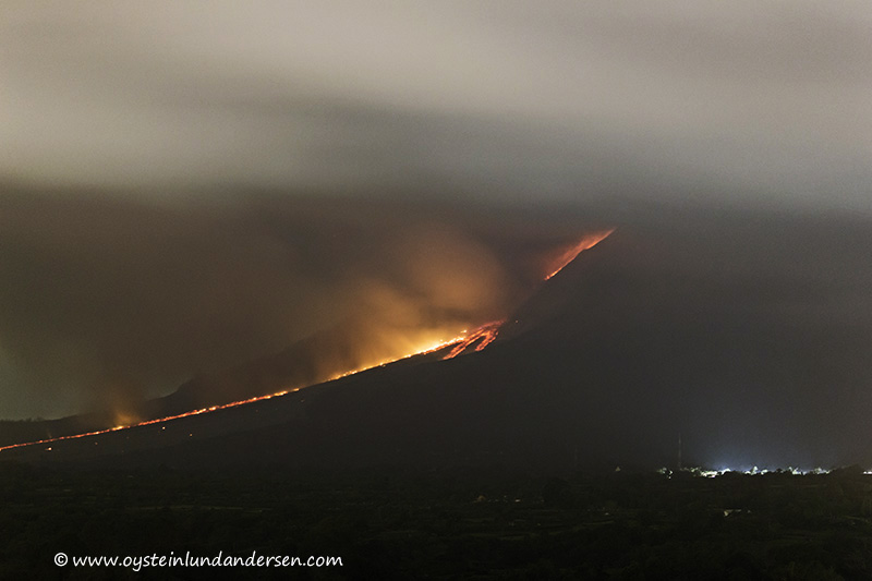 32. Reaching the base of the volcano.(13th January - 05:23)