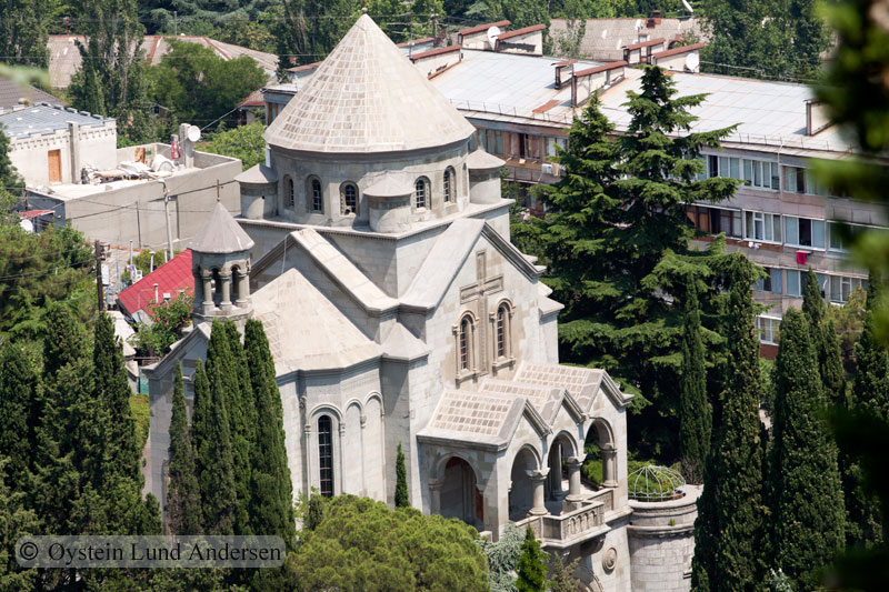Typical crimean architecture.
