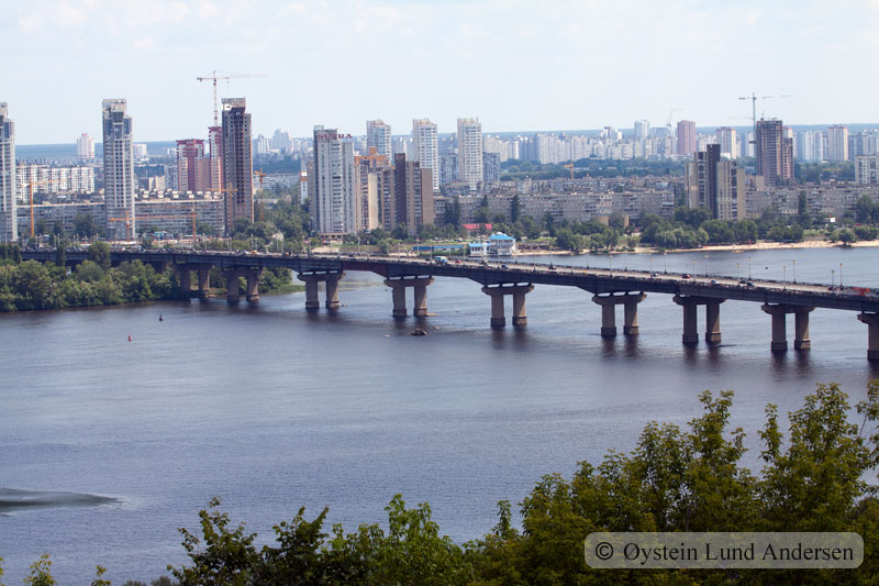 Bridge over Dnieper.