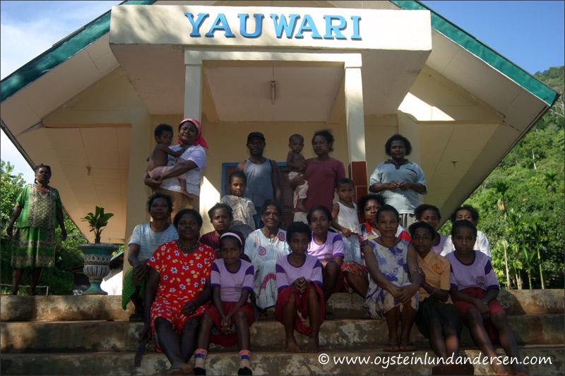 "The local church ""Yauwari"" in Yepase (February 2005)"