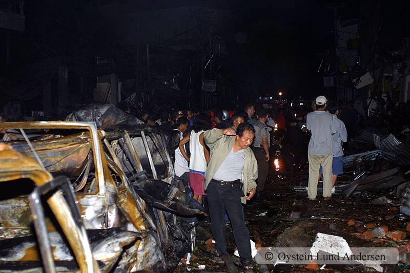 October 2012 Bali Indonesia Bomb Terrorism