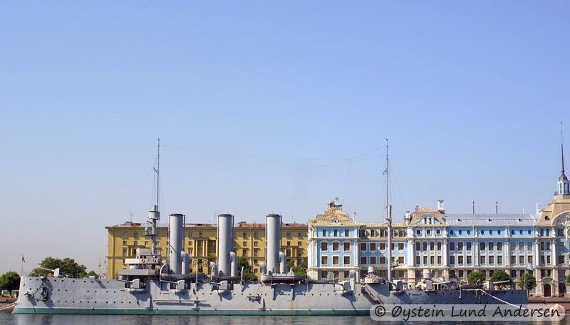 Russian warship. (St.Petersburg)