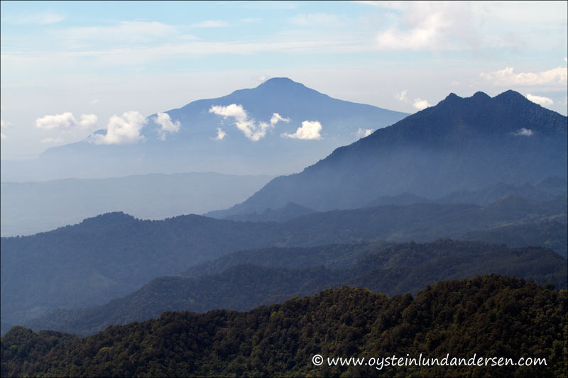 Scenic view from the top of Tangkuban Parahu. (1th May 2012)
