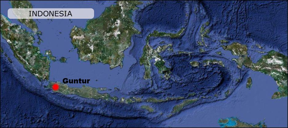 Guntur-volcano-Indonesia-Map