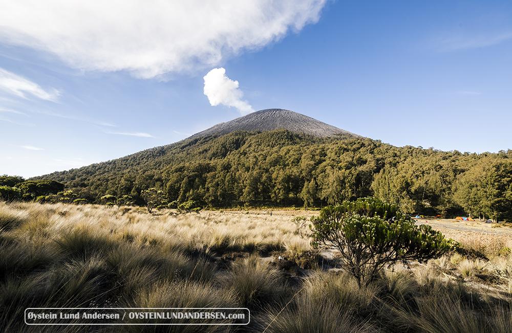 Semeru volcano August 2015 Eruption